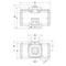 Pneumatische aandrijving fig. 79612 serie FD aluminium dubbelwerkend