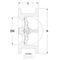 Clapet anti-retour entre brides fig. 2237 fonte ou fonte ductile