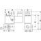 Magneetafsluiter 3/2 fig 33001 serie 356 messing binnendraad