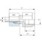 Manometer koppeling MAV08LNPT1/4 -M+D (zonder moer en snijring) RVS-316TI