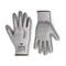 HPPE Schnittschutz-Handschuh Cut Resistant 3 grau/grau
