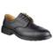Black 4-Eyelet Leather Lined Brogue Shoe Sz10 EN 20345 S1P SRC