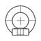 DIN582 Oogmoer Staal C15 elektrolytisch verzinkt