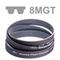 Courroie dentée Poly Chain® profil 8MGT largeur 36 mm